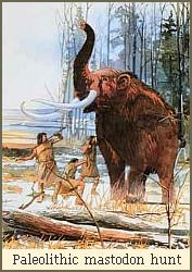 mastodon and neolithic hunters borrowed from http://gatesofvienna.blogspot.com/2006/07/men-of-north.html