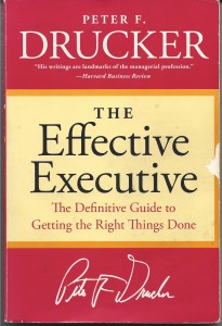 Peter Drucker's The Effective Executive