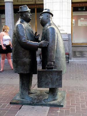 The Conversation by William McElcheran, Calgary Canada